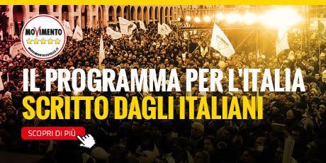 Programma Nazionale Movimento 5 Stelle